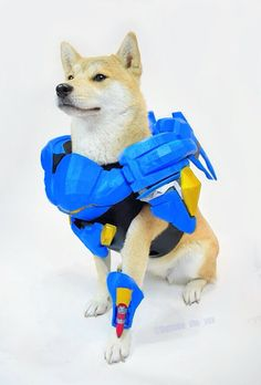 Pharah Doge by @Outside_the_Vox