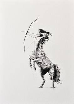 Sagittarius - Archival Print by Marini Ferlazzo