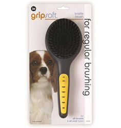 JW Pet Company GripSoft Bristle Brush Dog Brush Dog Grooming Tips, Dog Grooming Supplies, Puppy Supplies, Online Pet Supplies, Best Brushes, Lhasa Apso, Dog Accessories, Pets, Smooth