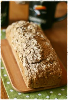 Guinness & oat quick bread - pane veloce all'avena e guinness