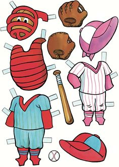 berenstain bears paper dolls costumes1