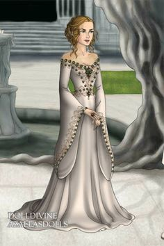 Cersei ~ by Nifredil ~ created using the LotR Hobbit doll maker | DollDivine.com