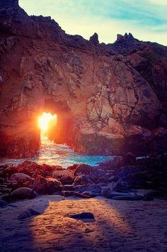 Beaches -Relax Mind - Pfeiffer Beach - Big Sur
