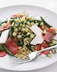 Quinoa Salad with Pickled Radishes and Feta - Best New Chefs' Summer Sides on Food & Wine
