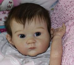 Pixie  Reborn . sculpt Bonnie Brown sold out kit   BELLABABY