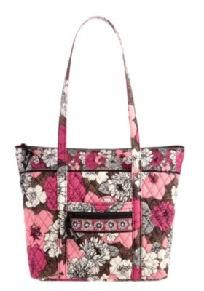 Vera Bradley Villager in Mocha Rouge NEW