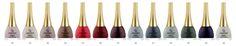 Seria wysokiej jakości lakierów do paznokci, wzbogacona substancjami przedłużającymi trwałość manicure. Lakier nadaje połysk. Występuje w bogatej i modnej kolorystyce.  http://goldenrose.pl/produkty/paznokcie/lakiery-do-paznokci-/paris-nail-lacquer-13.html