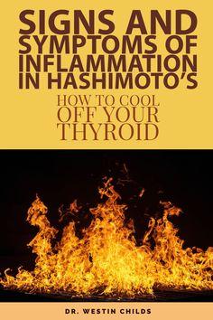 Hashimoto Thyroid Disease, Thyroid Symptoms, Autoimmune Disease, Hypothyroidism, Hashimotos Symptoms, Signs Of Inflammation, Thyroid Medication, Thyroid Health, Thyroid Hormone