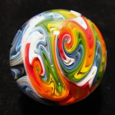 Glass marble by Andrew Groner