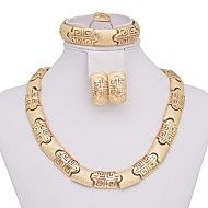 WesternRain Women's Gold-plated  Jewelry Set. Get superb discounts up to 80% Off at Light in the Box using coupon and Promo Codes.