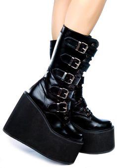Demonia Goth boots by BohemianBarbieOnline on Etsy