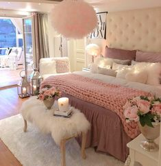 bedroom inspirations 58 Inspiring Modern Bedroom Design Ideas These trendy Nails ideas would gain you amazing compliments. Check out our gallery for more ideas these are trendy th Teen Bedroom Designs, Bedroom Decor For Teen Girls, Cute Bedroom Ideas, Cute Room Decor, Modern Bedroom Design, Room Decor Bedroom, Bed Room, Master Bedroom, Bedroom Styles