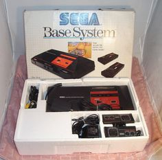 My first console. Sega master system