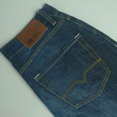 Men s Hugo Boss Orange BO2 Jeans 31  Waist size W31 L32 31/32 Blue Straight  3