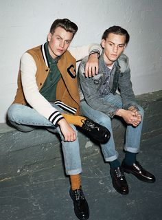 style can make fashion , attitude helps a whole lot.   Their attitude is dripping from their faces