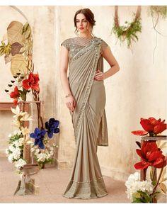 ff109afe26 MohManthan Mariposa Readymade Designer Saree-5015. Wedding Sarees  OnlineParty ...