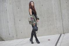 Seoul Fashion Week 2015S/S Street style!!! #model #offduty #JangNaeRi 장내리