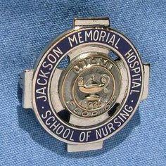 Jackson Memorial Hospital School of Nursing Graduation Pin