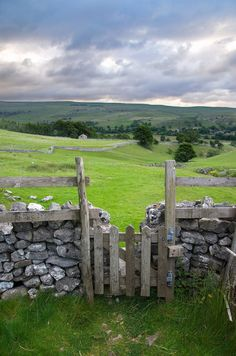 Wharfedale, Yorkshire Dales, England by A.Leighton