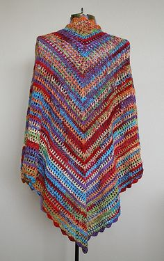 Ravelry: Country Cotton Shawl - free crochet pattern by Lion Brand Yarn - gorgeous in all simplicity!