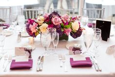 An Elegant Plum Wedding in Washington, D.C.