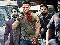 A stubble, military cut and bulging biceps - Tiger Shroff under . New Hair Cut baaghi 2 new haircut 2 Movie, Movie List, Bollywood Actors, Bollywood News, Bollywood Celebrities, Military Cut, Movies Box, Bollywood Updates