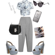 Untitled #116 by q-griffin on Polyvore featuring polyvore fashion style Whistles Acne Studios Office Chloé Dsquared2 Kate Spade