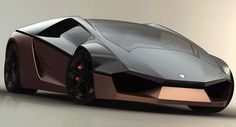 Lamborghini Ganador Supercar Design Study Goes Wedge