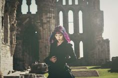 Happy #Halloween! La Carmina celebrated with a Vampire Victorian photoshoot at Whitby Abbey, which inspired the Dracula novel. More about the history of Whitby and Bram Stoker's inspirations at: http://www.lacarmina.com/blog/2015/10/goth-magazine-model-victorian-steampunk-fashion/