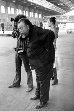 Orson Welles, n.d. - photographer probably Jean Lattès @filmfestfinder hails Cinema's greatests. Help make new ones. Write a review today!