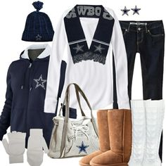 Dallas Cowboys Outfit Idea dallas cowboys winter fashion trade those hideous uggs with Dallas Cowboys Outfit. Here is Dallas Cowboys Outfit Idea for you. Dallas Cowboys Outfit male dallas cowboys fan showed up to nfl draft in a full. Dallas Cowboys Outfits, Cowboy Outfits, Dallas Cowboys Football, Winter Outfits, Casual Outfits, Cute Outfits, Cowboys 4, Cowboys Gifts, Look Fashion