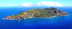Pitcairn Island - one of the most remote inhabited islands in the world.