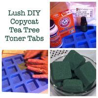 Toner Tabs.....DIY Lush Products.  Tea Tree Toner Tabs are one of my amazingly simple beauty secrets.  Considering that these little beauties will cost you about $1 each, this easy homemade project will fit easily into our quest for frugal living.