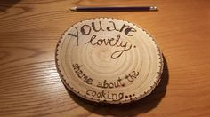 Check out this item in my Etsy shop https://www.etsy.com/uk/listing/572727531/natural-wood-slice-trivet-with-your