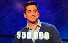 Aaron Rodgers won Celebrity Jeopardy on Tuesday.