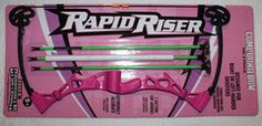 NXT Generation Girl Pink Rapid Riser Toy Compound Bow w/ Target and 3 Arrows | Sendera Ranch Outfitters for Hunting, Fishing, game processing, shooting, and concealed carry products.