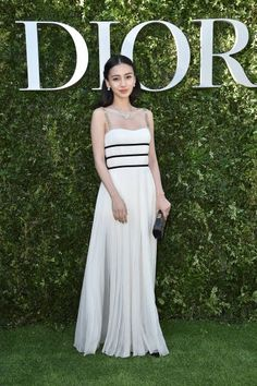 Angelababy attends 'Christian Dior couturier du reve' Exhibition Launch celebrating 70 years of creation at Musee Des Arts Decoratifs on July 3 2017...