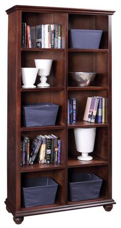 "This 78"" cube bookshelf if great for storing or displaying your favorite items.  Different sizes and colors are available for special order, please contact the store directly for details.   It measures:  39""X14""X78""H"