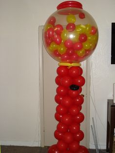 Gumball Machine sculpture