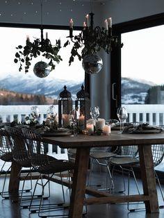 Credit: Inspirasjon til nyttårs bordet! Table Setting Inspiration, Home Staging Tips, Sell My House, Living Room Goals, Interior Decorating, Interior Design, Scandinavian Home, Farmhouse Chic, Home Buying