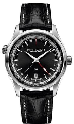 Hamilton H32695731 Jazzmaster GMT Auto Men's Watch - WatchMaxx.com