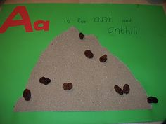 A is for ant craft (Themes: Ants, Bugs, Insects, letter A)