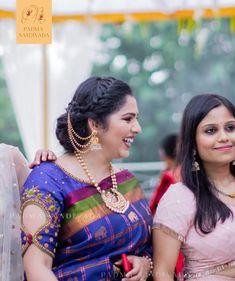 new look to saree, redesign saree, blouse ideas, blouse designs Half Saree Designs, Simple Blouse Designs, Stylish Blouse Design, Saree Blouse Neck Designs, Bridal Blouse Designs, Hand Work Blouse Design, Blouse Patterns, Saris, Silk Sarees