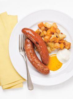 Recette de Ricardo de saucisses polonaises et moutarde épicée au miel