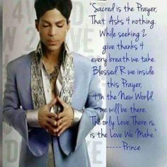 "The incredible lyrics from ""The Love We Make"" from the Emancipation album, very deep lyrics that touches the soul. Prince Meme, Prince Quotes, My Prince, Prince Gifs, Mavis Staples, Sheila E, Madonna, Prince Purple Rain, Paisley Park"