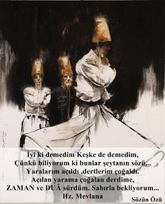 """indigenousdialogues: """"Iranian artist, Hossein Irandoust Untitled Oil on canvas x 2012 """" Persian Calligraphy, Islamic Calligraphy, Calligraphy Art, Mystic Symbols, Whirling Dervish, Islamic Paintings, Dance Paintings, Best Urdu Poetry Images, Outdoor Wall Art"""