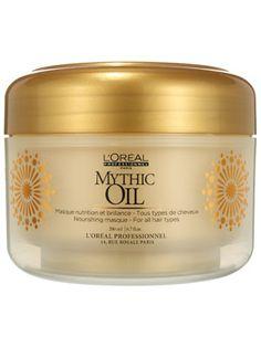 L'Or�al Professionnel Mythic Oil Nourishing Masque Review: Hair Care: allure.com