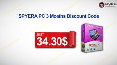 Just 34.30$ by SPYERA PC 3 Months Discount Code http://tickcoupon.com/stores/spyera-coupon-codes