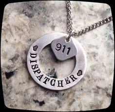 911 Dispatcher Necklace, 911 Operator, 911 Professional Jewelry Necklace, officer Gift