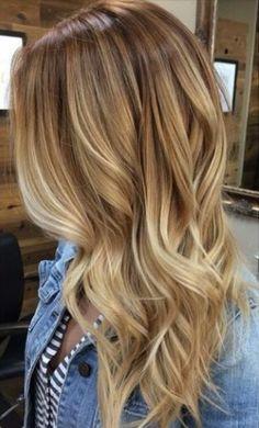 Hair - Blonde Baylayage 1